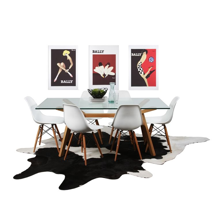 Contempo Dining Package - Wood - Matt Blatt. Would I be totally crazy to buy a glass dining table for a house with small children?