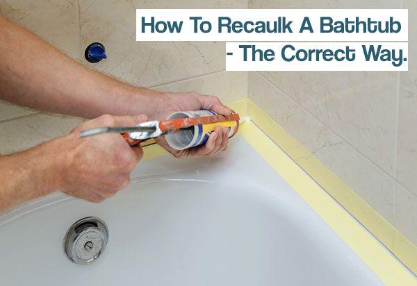 How To Recaulk A Bathtub Iseeidoimake Diy Shower Bathtub