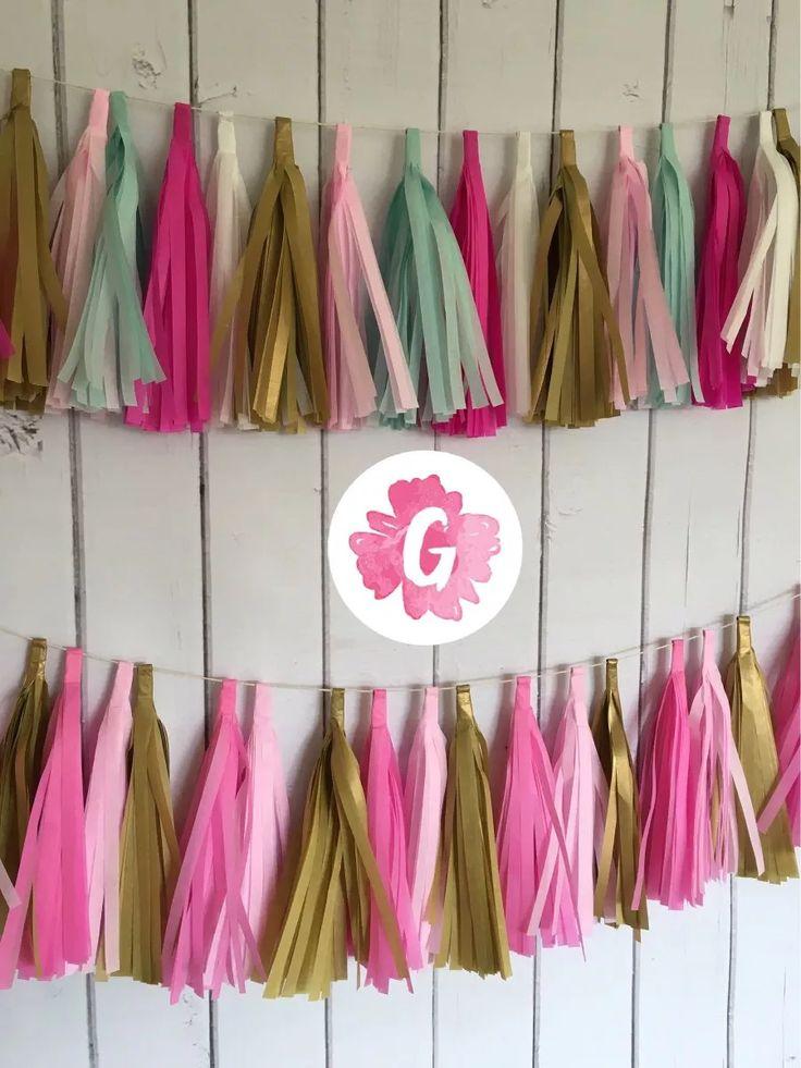 Fiesta Tissue Paper Flowers