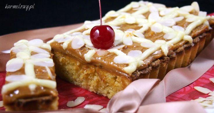 Mazurek królewski z białą czekoladą: White Chocolate