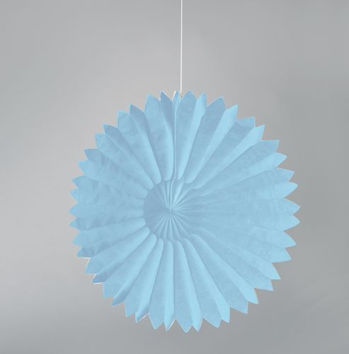 Pastel Blue Tissue Paper Daisies Party Decorations