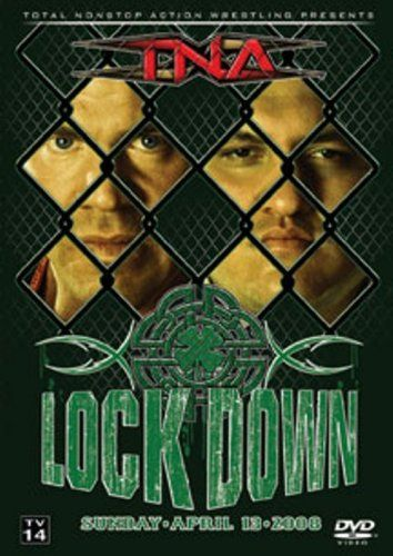 TNA: Lockdown 2008:   On April 13, 2008 Total Nonstop Action (TNA) Wrestling presented Lockdown live and exclusively on Pay-Per-View! Lockdown is 1 of TNA's 2 biggest events of the year, and every match is contested inside the infamousSides of Steel! In the main event Samoa Joe challenges Kurt Angle for the TNA World Heavyweight Championship. On this TNA Home Video DVD release, you ll witness the three-hour spectacular in its entirety, featuring your favorite TNA superstars such as Kur...