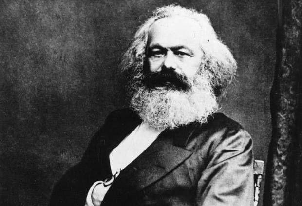 marxisme begint met Karl Marx