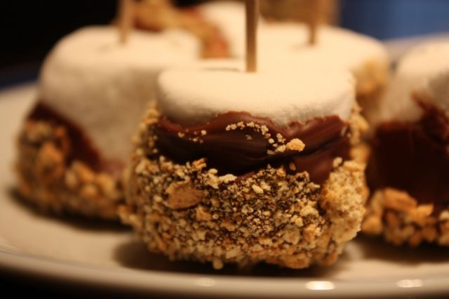 S'more Sticks - another friend made these for book club last night. Yup. Best book club ever.