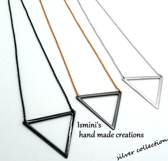 Handmade silver 925 necklace by IsminisHeartmade on Etsy