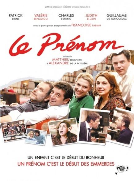 Le Prénom, Alexandre de la Patellière, 2011