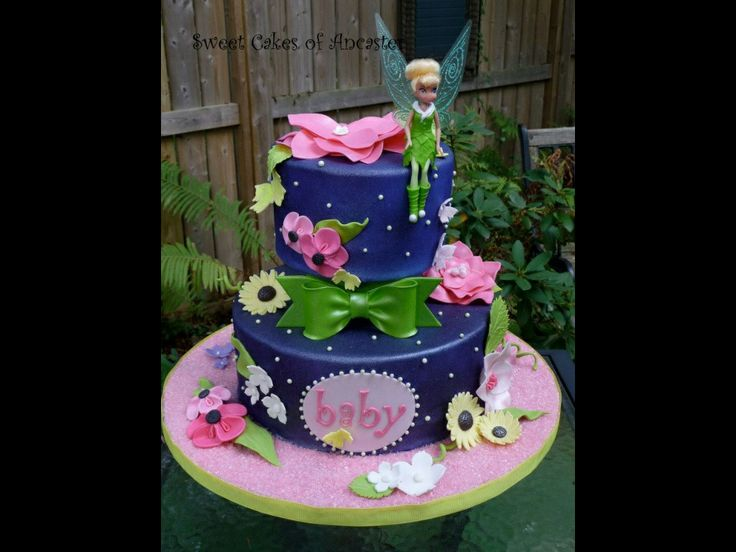 about tinkerbell baby shower cake ideas on pinterest baby showers