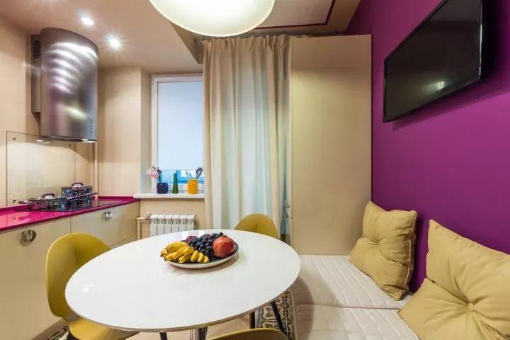 Дизайн кухни 8 кв м фото: планировка интерьера с ...