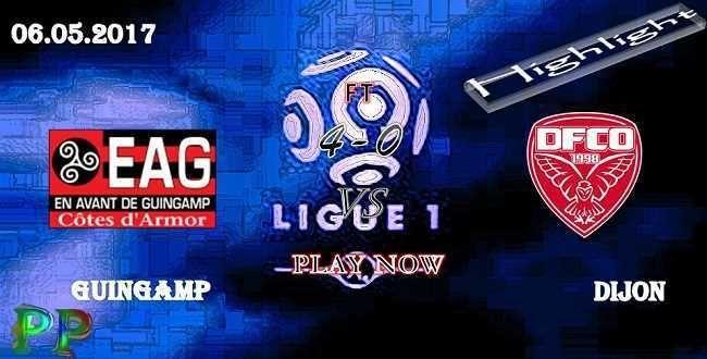 Guingamp 4 - 0 Dijon HIGHLIGHTS