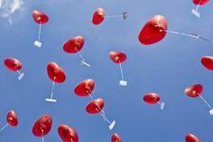Hochzeitsgeschenk Heliumballons Überraschung