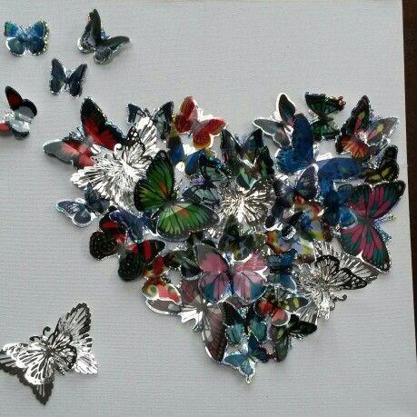 Vlinders in 3D