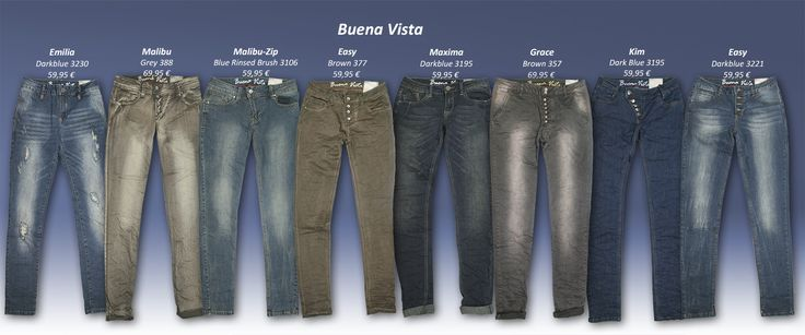 Bereit für die schönen Hosenaussichten? Mit Buena Vista Jeans seid ihr es ganz bestimmt, denn die Hosen sind stylisch und machen einfach gute Laune!