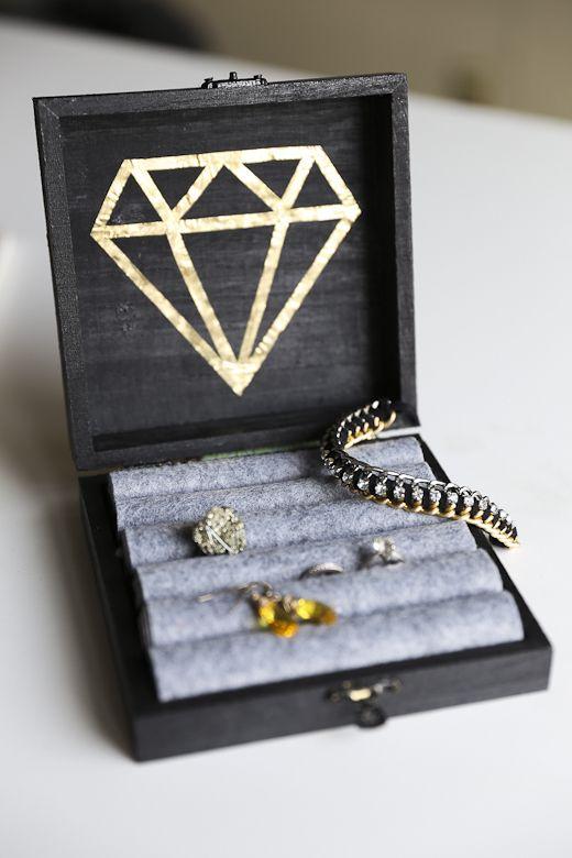 DIY: jewelry box | DIY Arts/Crafts | Pinterest