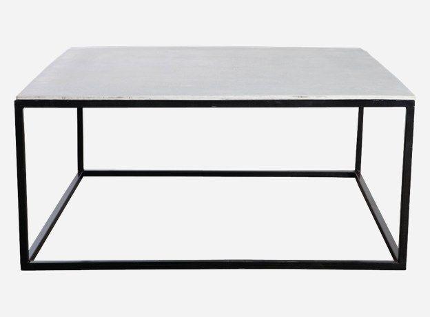 perfekt som stuebord design house doctor type bord med fiberbetong bordplate farge matt sort. Black Bedroom Furniture Sets. Home Design Ideas