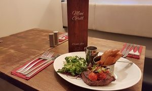 Groupon - Steak and Prosecco for Two or Four at Mini Grill in Glasgow City Centre. Groupon deal price: £29