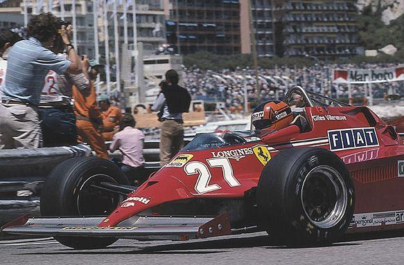 Gilles, Monaco 1981 closeup
