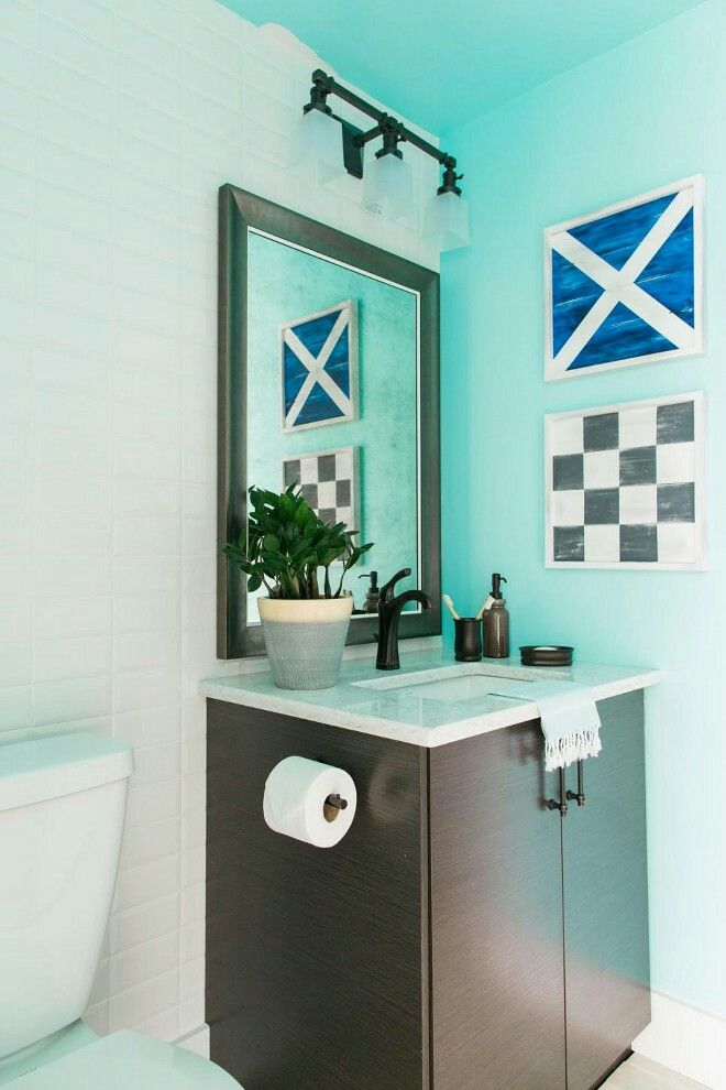 Best Of Green and Blue Bathrooms