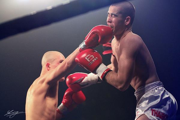 Fight Night - photos by Lukáš Smiešny, via Behance