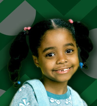 Rudy Huxtable age 6, from The-Cosby-Show, real life Keshia-Knight-Pulliam