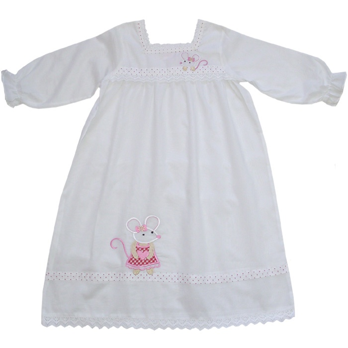 Add a cheeky grin and sparkling eyes for the perfect bedtime princess.