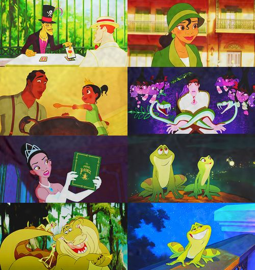 The Princess and the Frog+ green