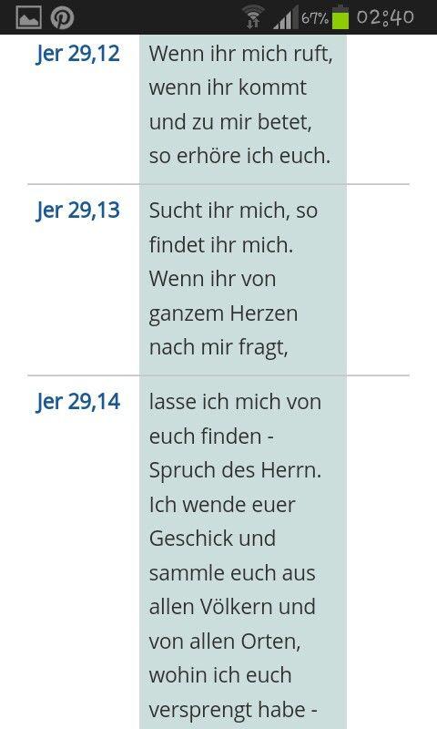 #Gott hat gute Pläne für uns alle - #Bibel - #Jeremia 29; 11 - 14