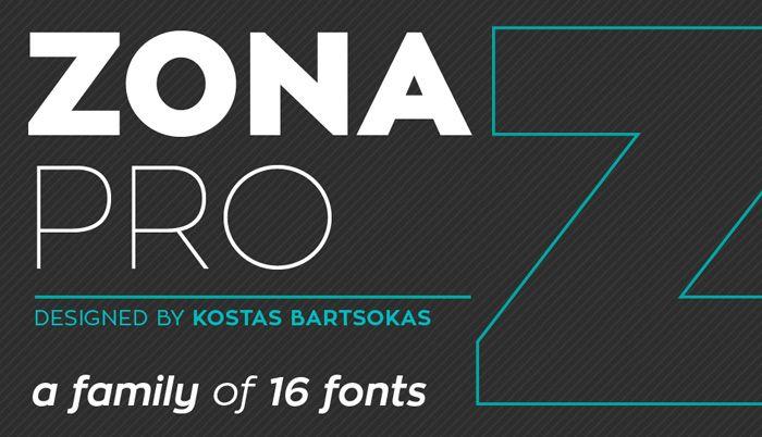 Zona Pro | Fontfabric™