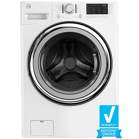 $750 // Kenmore 41382 4.3 cu. ft. Front-Load Washer w/Steam - White