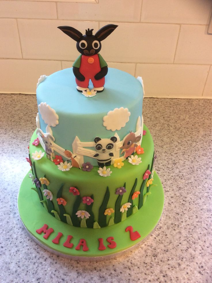 CBeebies likes this Bing bunny birthday cake. Perfect for any kid's party. We're sure it wouldn't be a 'Flop'!