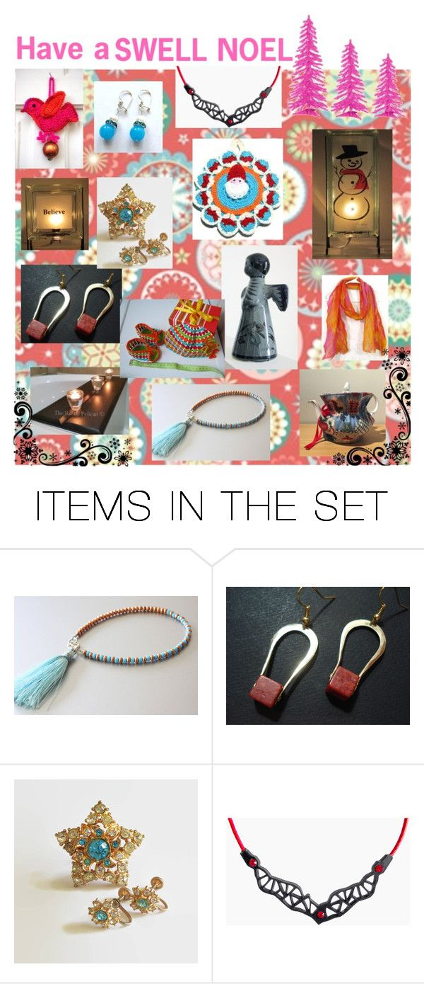 """""""Gift Giving Guide"""" by glowblocks ❤ liked on Polyvore featuring art"""