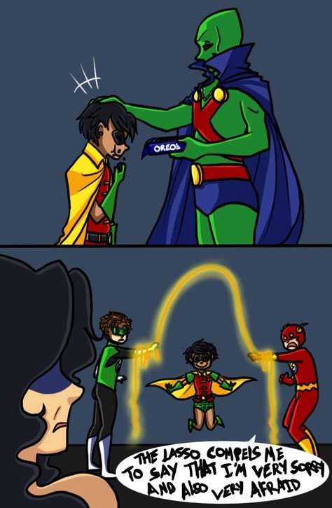 JL having fun with robin