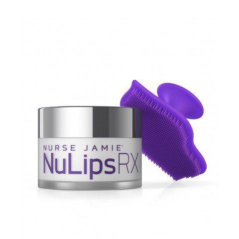 NuLips RX Moisturizing Lip Balm + Exfoliating Lip Brush - Nurse Jamie Healthy Skin Solutions