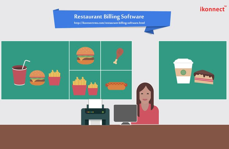 Ikonnect offers Restaurant Billing Software with GSt enable one stop solution to mange the whole billing, accounting, inventory & customer data for all types of restaurant business.Get a Free demo for more info call at +91-9030640404