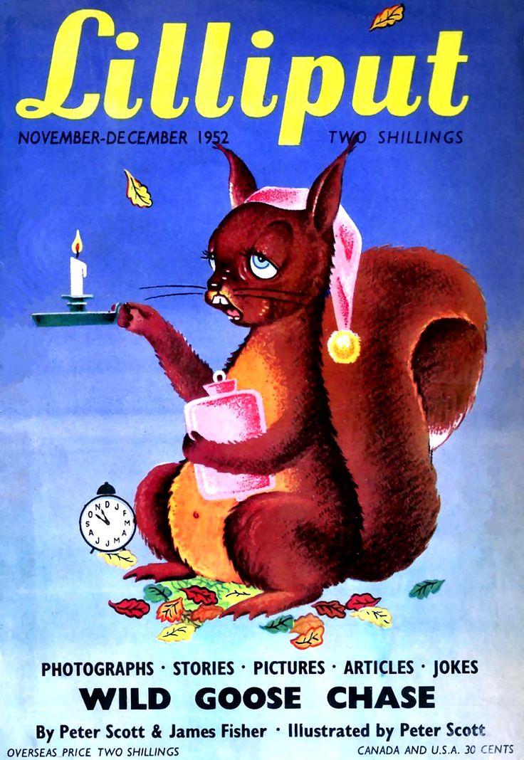 1952. Lilliput magazine front cover