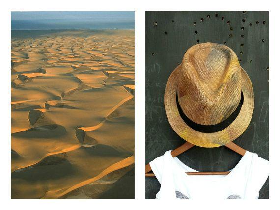 Dune  Unisex braid fedora trilby hat with by FeatherheadOnEtsy, $64.00