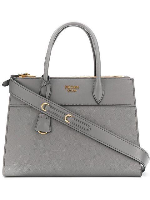 a4b82c53c09c prada paradigme tote bag grey large size new bag @ebay @pinterest  #louisvatton #guccigang #designer #bags #wearing