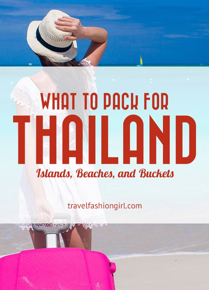 Hope you liked this  Thailand packing list for beaches and islands. Please share this post on Facebook, Pinterest, or Twitter. Thanks for reading!