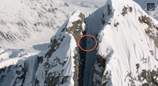 Cody Townsend Skis the Craziest Line Ever