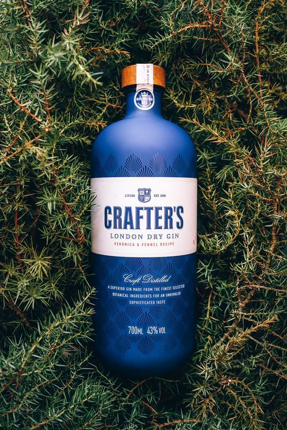 Crafter's London Dry Gin Veronica & Fehhel Recipe