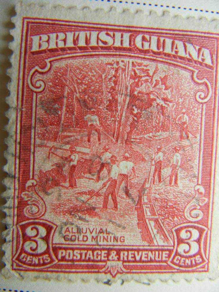 England Postage Stamps | Big Blue 1840-1940: British Guiana