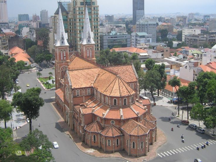 Cathedral Basilica of Our Lady of The Immaculate Conception Ho Chi Minh City Vietnam [1229x922] via Classy Bro