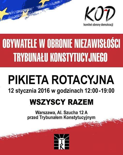 Komitet Obrony Demokracji - Kujawsko-Pomorskie: Aktualności