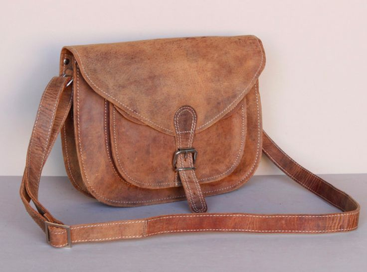 Our new classic leather saddle bag has been lovingly handmade from quality leather using traditional leather crafting skills. #leatherbag #giftsforher #giftideas