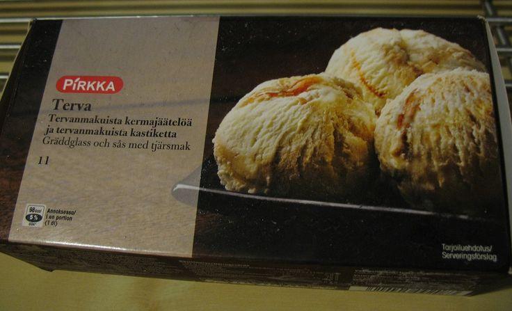 Finnish food: Tar ice cream