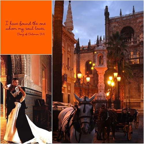 The  historic city of Seville