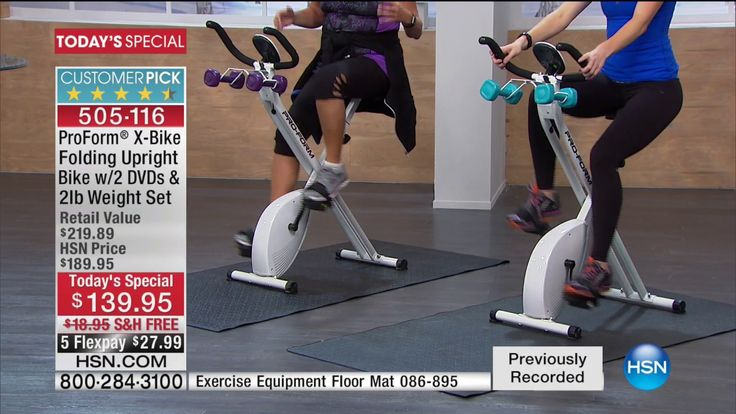 HSN | ProForm Fitness 01.03.2017 – 04 AM  Video  Description Fitness  Prices shown on the previously recorded video may not represent the current price.  View hsn.com to view the current selling price.SHOP NOW   - #Exercice