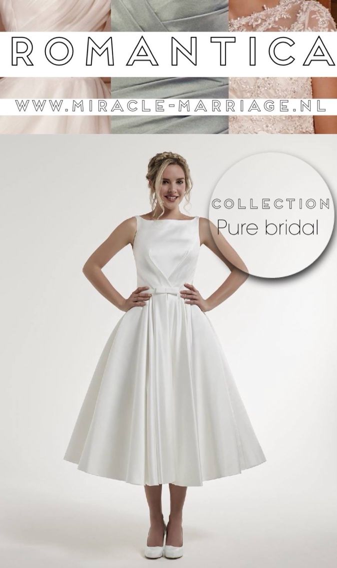 #miracleontwerpers Romantica Collection Pure Bridal #trouwen #bruid
