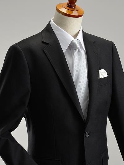 2ツボタンフォーマルスーツ(セレモニー 結婚式 冠婚葬祭 ブラック 黒 礼服) #フォーマル #スーツ #メンズファッション #スーツスタイルMARUTOMI
