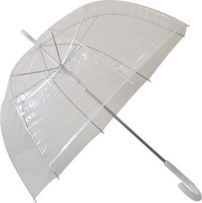 Parapluie transparent Cloche