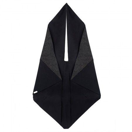 Bag Black / Japanese pattern